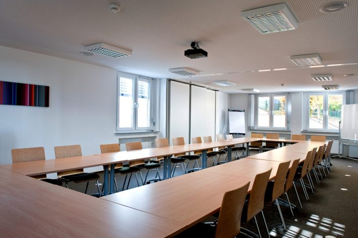 Seminarraum der Bildungsherberge in Hagen