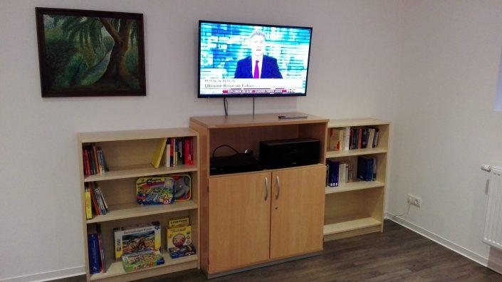 Freizeitraum in der Bildungsherberge in Hagen
