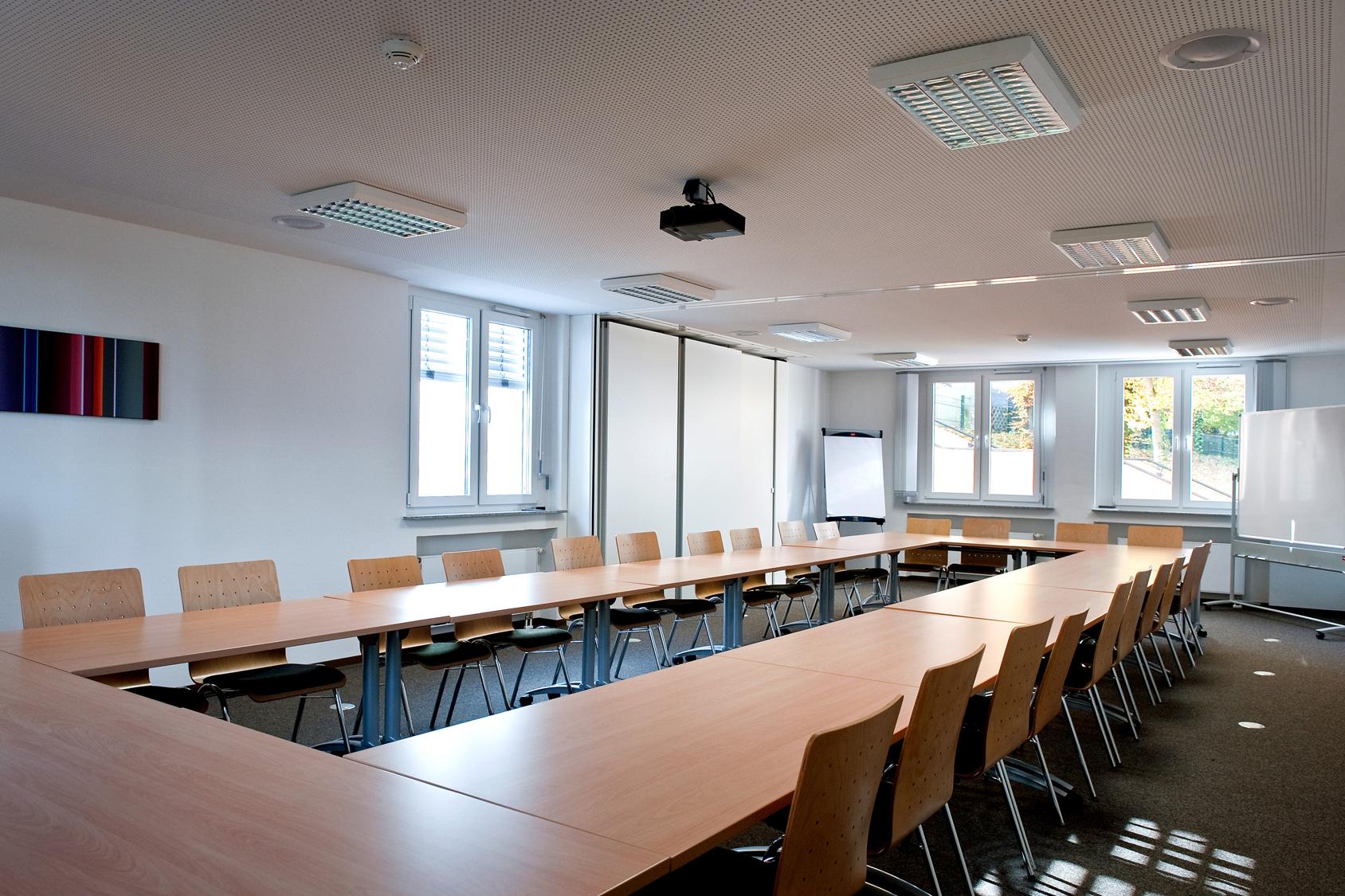 Seminarraum der Bildungsherberge der Studierendenschaft der FernUniversität in Hagen