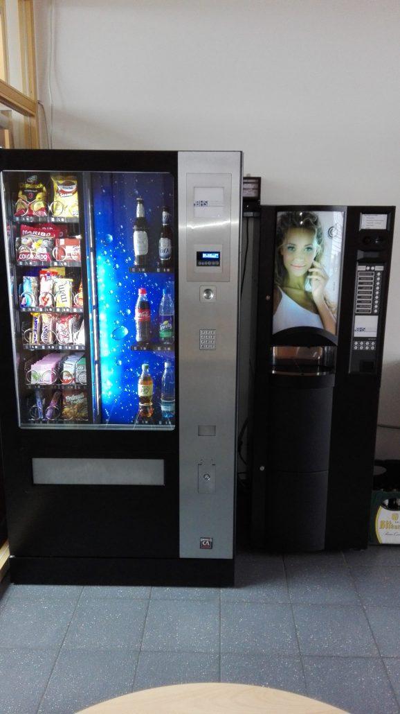 Ein Automat in der Bildungsherberge der Studierendenschaft der FernUniversität Hagen
