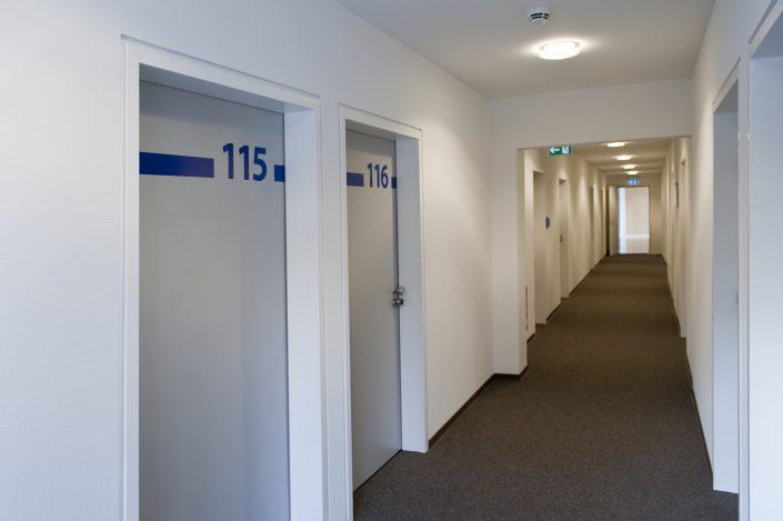 Gang und Flur der Bildungsherberge in Hagen
